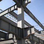 Columnas, Estructura de Acero
